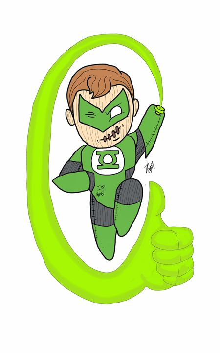 green lantern (hal jordan) rag doll - Dannyz World