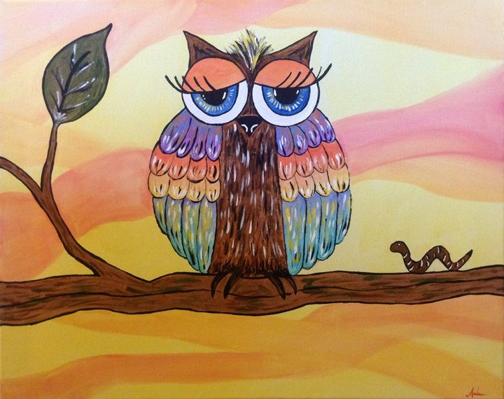 Day Owl - A.M. Paintings