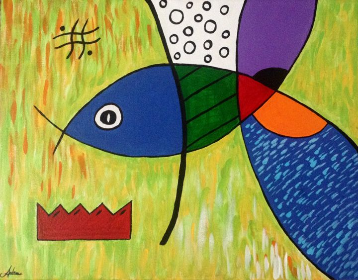 Fish, Go Fish - A.M. Paintings