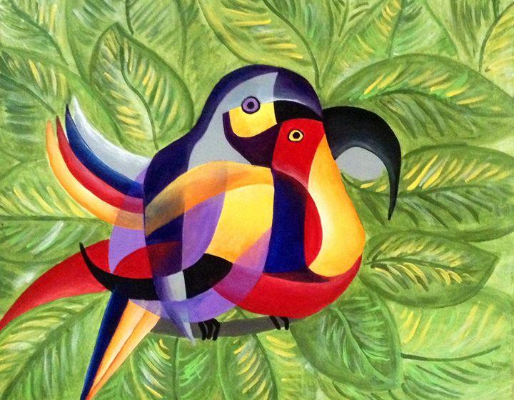 """""""Las Wacamayas"""" - A.M. Paintings"""