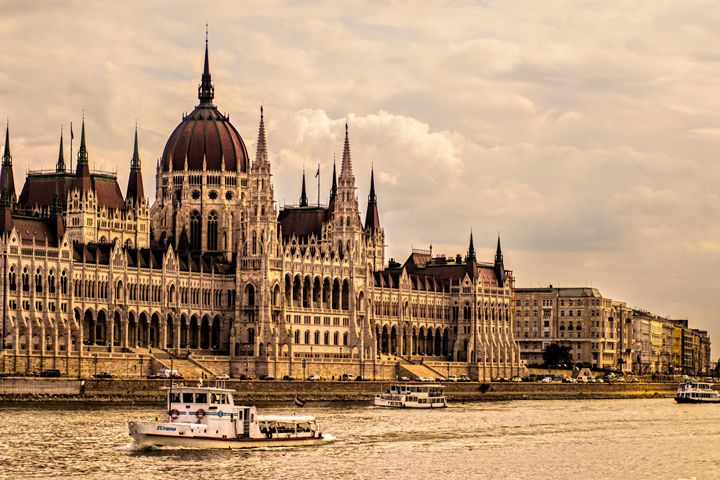 Hungarian Parliament, Budapest - Photowitch
