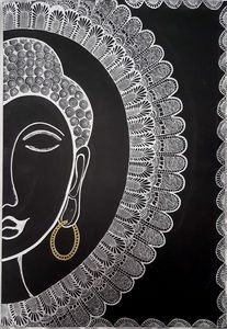 Buddha Mixed Art