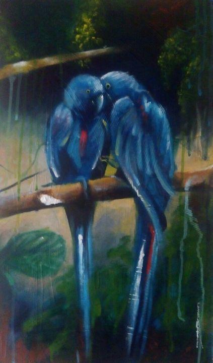 Blue love - Dodd Brown Nkpa