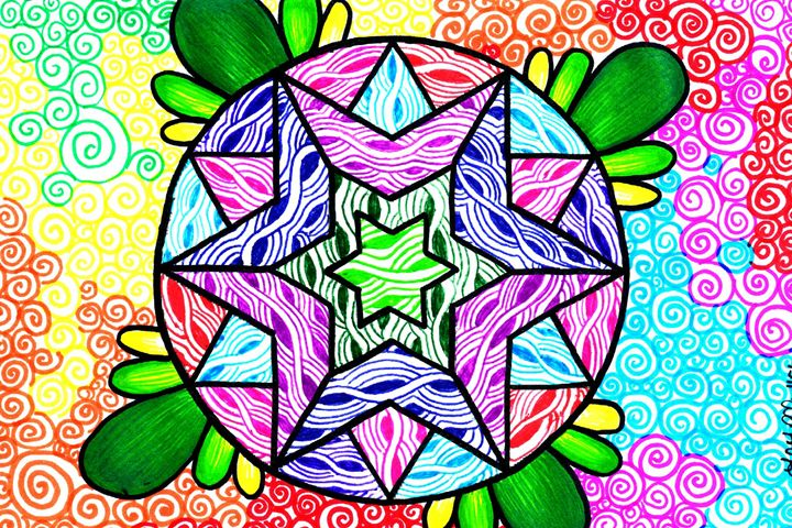 Stars and Swirls - Jay J