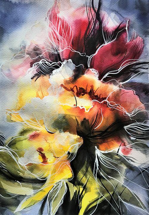 Fire Bloom - Tatiana Vassi