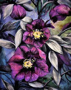 Dark Purple Bloom