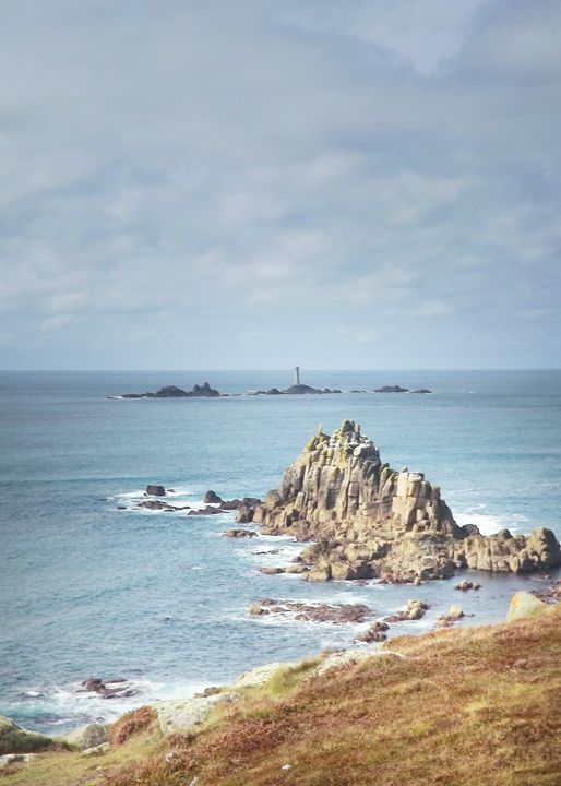 The Armed Knight Lands End Cornwall - Linsey Williams