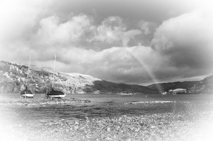 Rainbow Over Ullswater - Linsey Williams