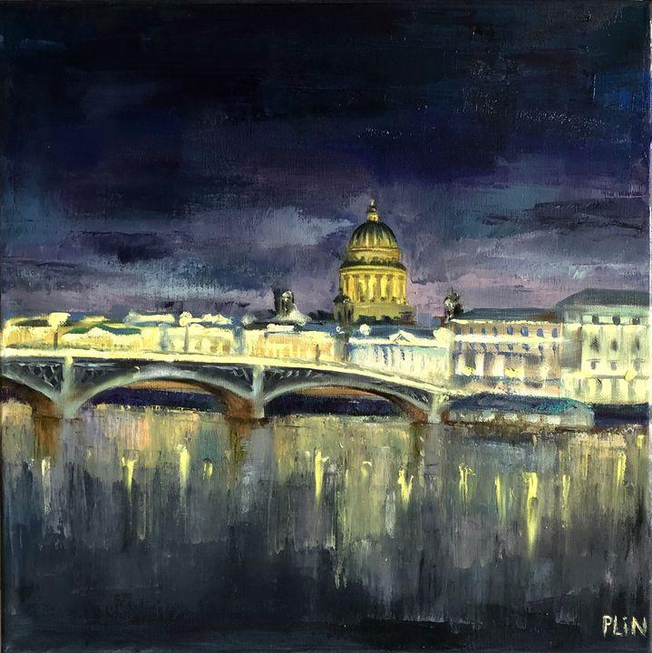 St.Petersburg night - Polina Vik