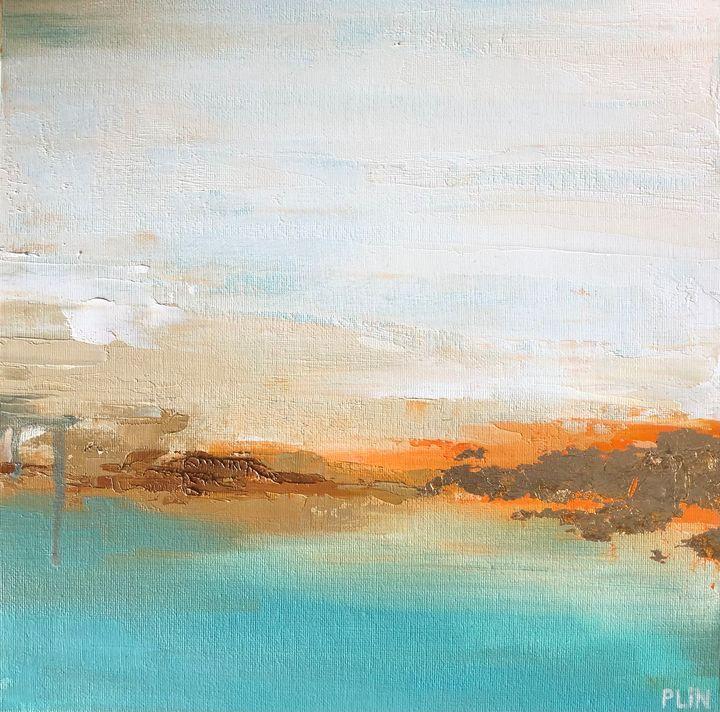 Sunset lake - Polina Vik