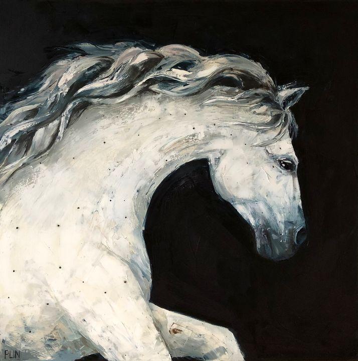 Original oil painting Constellations - Polina Vik