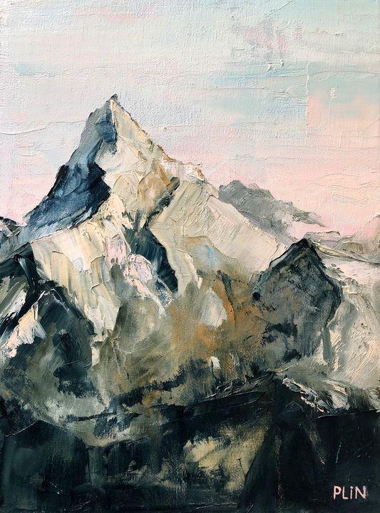 Pink mountains - Polina Vik