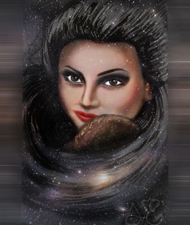 Queen of the night - Elena Kucherenko
