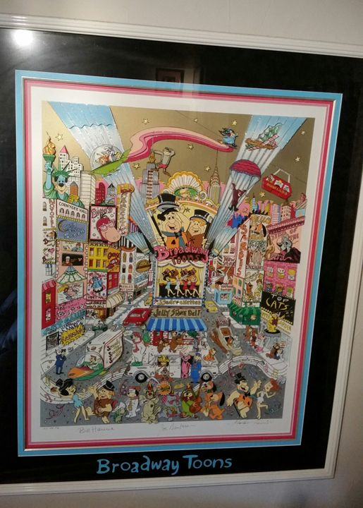 Broadway Toons 3D Serigraph - IndependentSeller