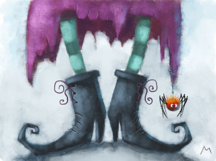 Witch Shoes - Molina Art
