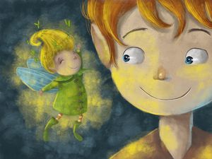 Peter and Tinkerbell