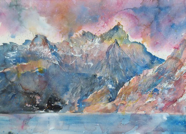 The Cuillin Hills, Skye - Robertkh238Art