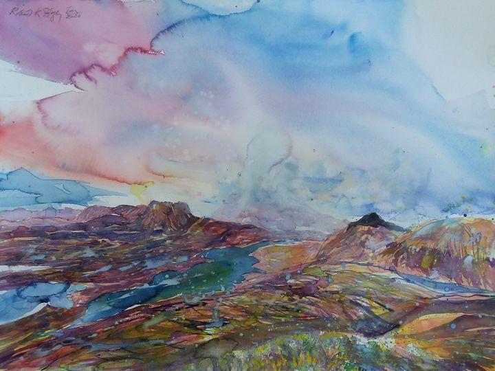 Loch Lurgainn, Inverpolly - Robertkh238Art