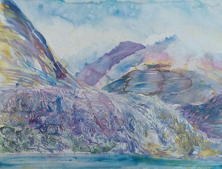Loch Torridon with Liathach behind - Robertkh238Art