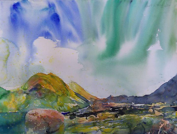 Glen Sligachan, Isle of Skye - Robertkh238Art