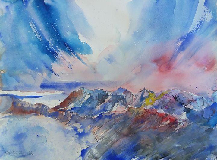 The Black Cuillin, Isle of Skye - Robertkh238Art