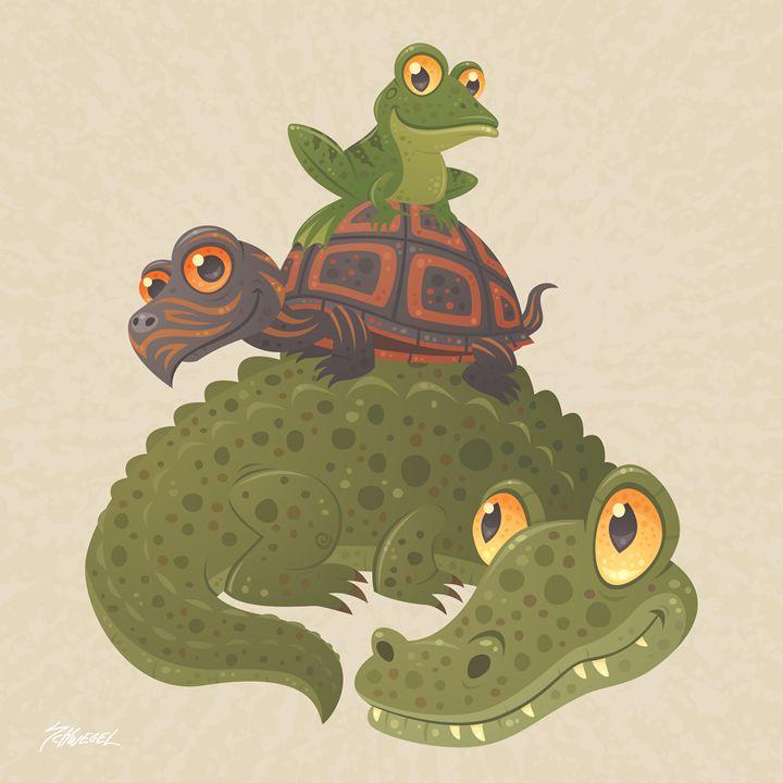 Swamp Squad - John Schwegel