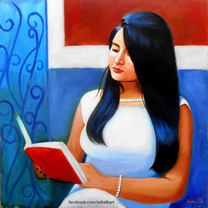 Mehak Reading Book - Zohaib Ahmed