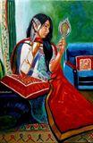 Prakriti , Origional Oil Painting