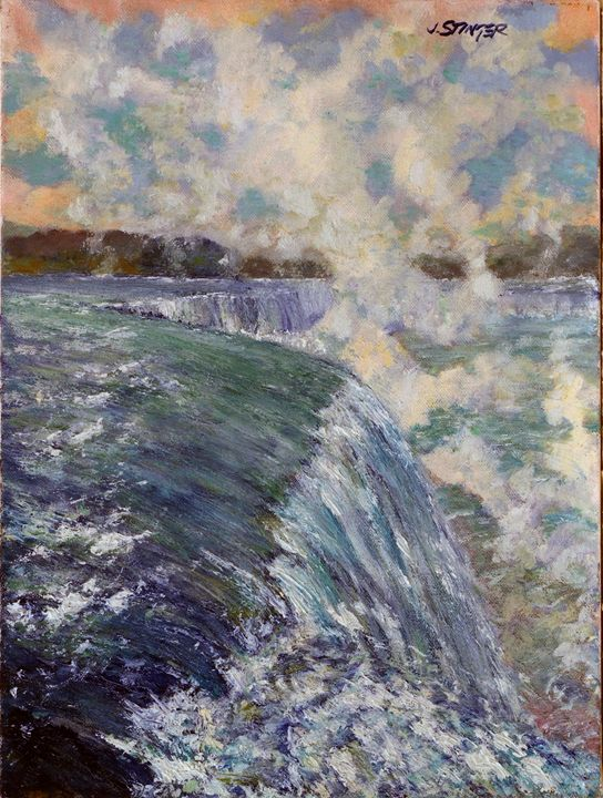 The Falls - John Stinger Fine Art
