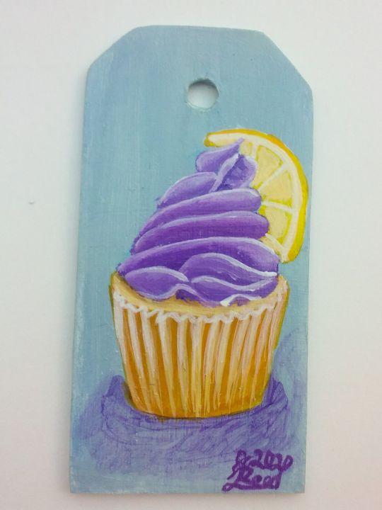 Lavender lemon - Art By Katherine