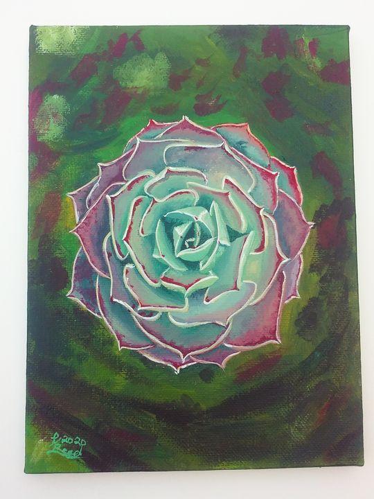 Succulent - Art By Katherine