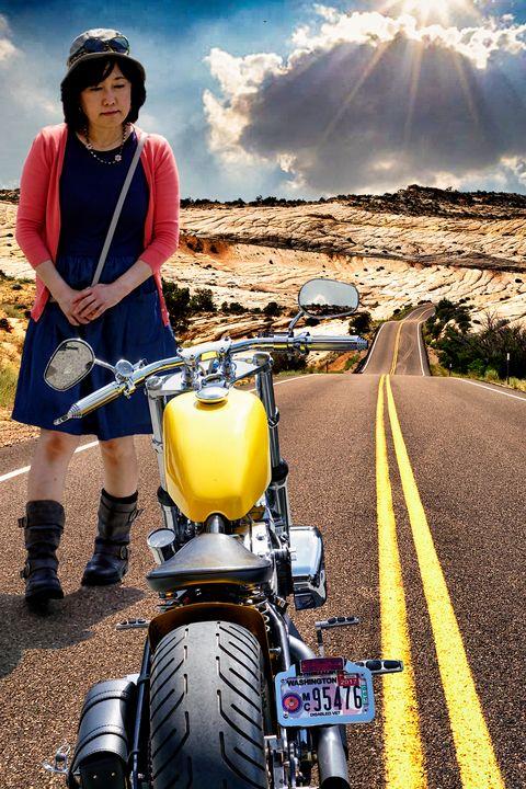 Road Warrior - Ted Matzek    (Aka Sunnyboyted)