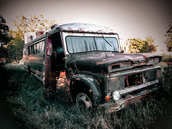 Left for the Rust - Gypsy-Halo Art & Design