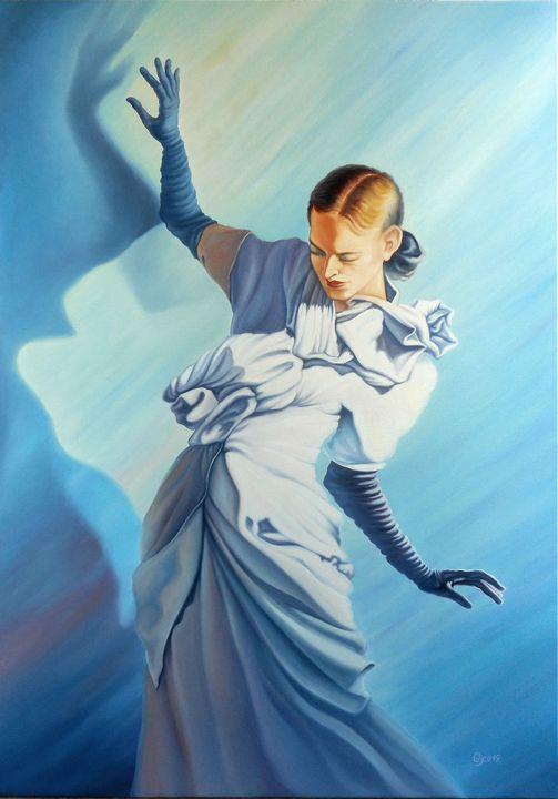 Vogue - Surreal paintings - Gyuri Lohmuller