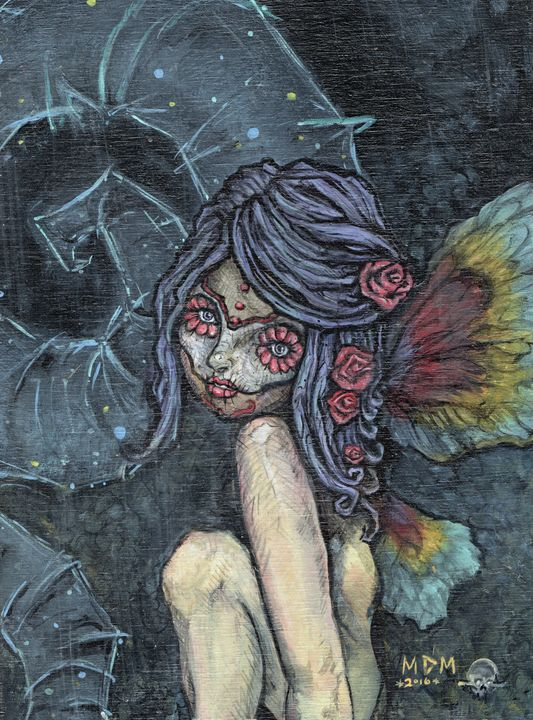 Sugar Skull Fairy - My Dying Muse