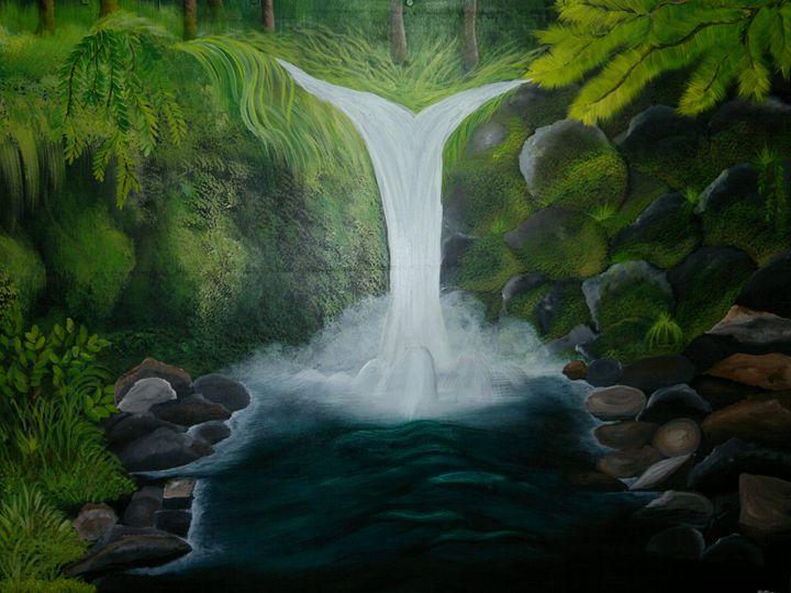 Waterfall - Opi Mozumder