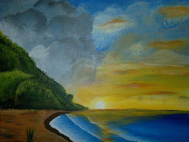 Sunset - Opi Mozumder