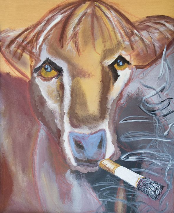 Smoking Cow - Bennett Rambo