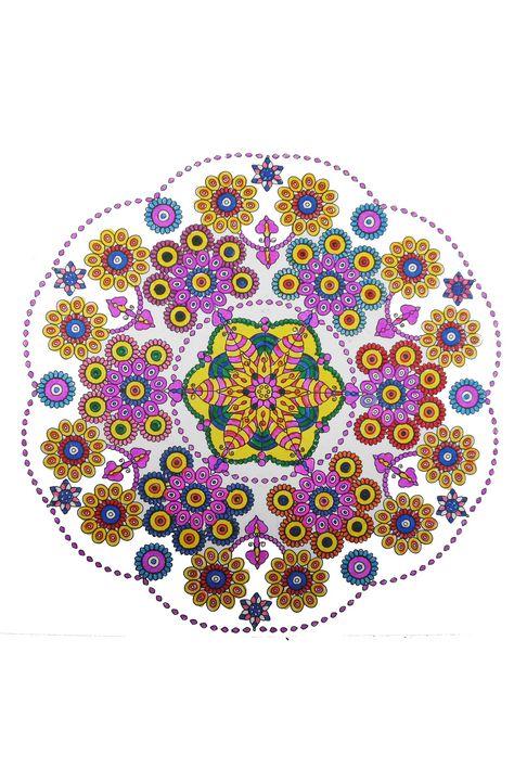 Lace mandala - Edy Art Gallery