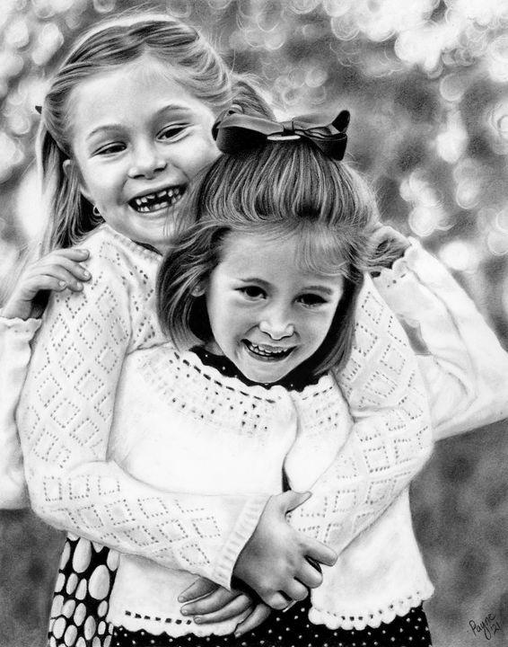 Sisters - Teresa Payne Art