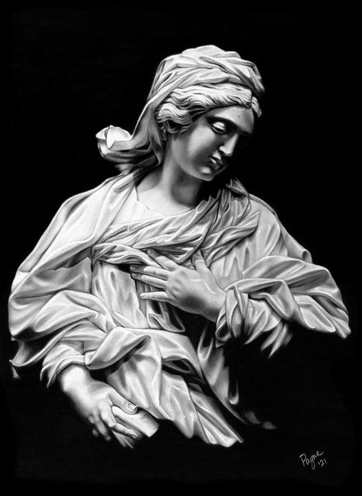 Maria Annunciata - Teresa Payne Art