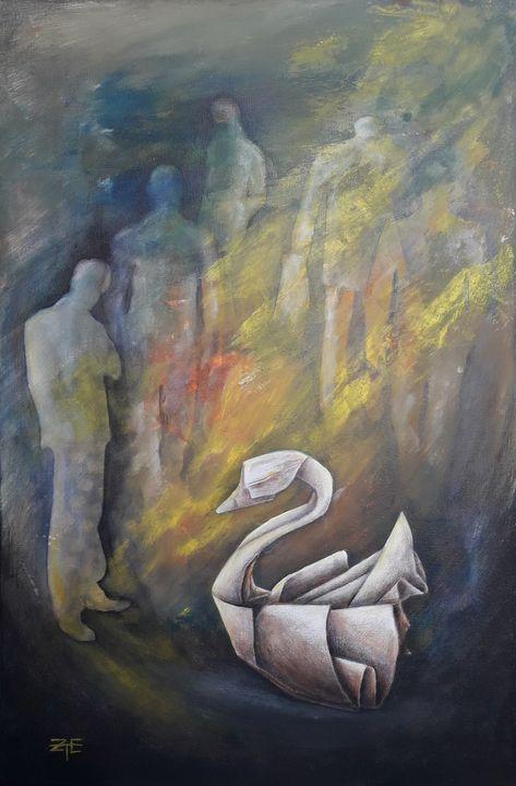 The thinker - Eda Z Tényi