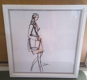 Signed Original Fashion Sketch
