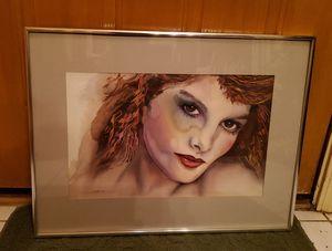 Rene Russo Original Watercolor Paint