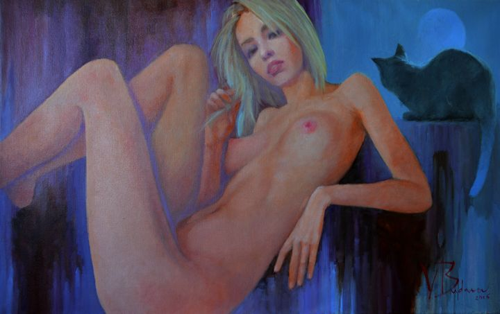 Waiting for the full moon - Valer-As Gallery