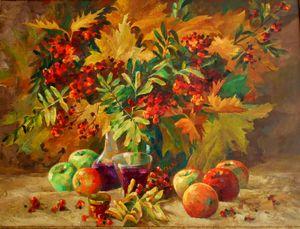Still life autumn - Alexandr Soloviev