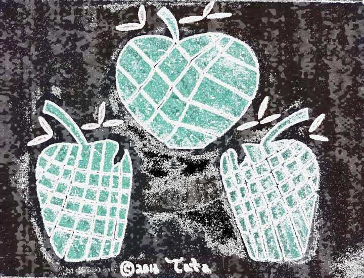 Bamboo Trio Apples Three - Tata Kimfa
