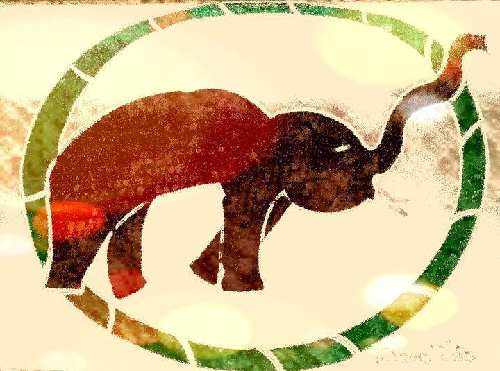 Bamboo Elephant Wheel - Tata Kimfa