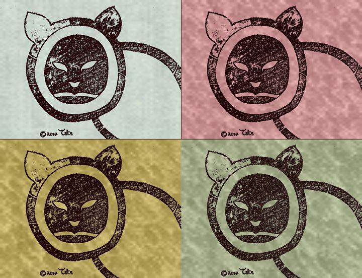 Bamboo Eskimo Cat Quad Two - Tata Kimfa