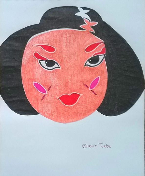 A Geisha Woman - Tata Kimfa